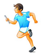 Runner boy