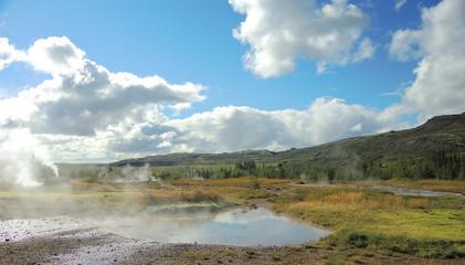 Geothermalgebiet auf Island
