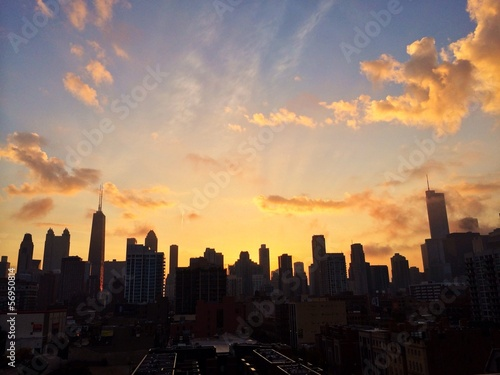 Sunrise Chicago