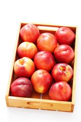 box of nectarines