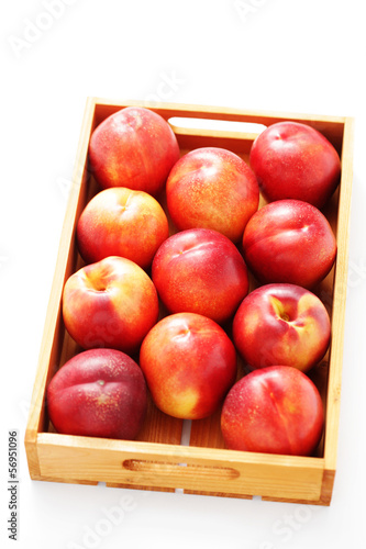 box of nectarines