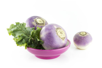 purple headed turnips