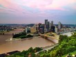 Pittsburgh Skyline at Dusk