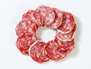 French dry sausage