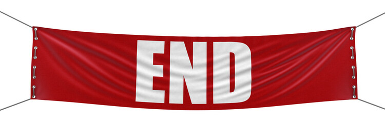 End Banner (clipping path included)