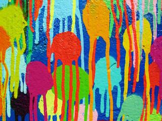 Dettaglio vernice graffiti