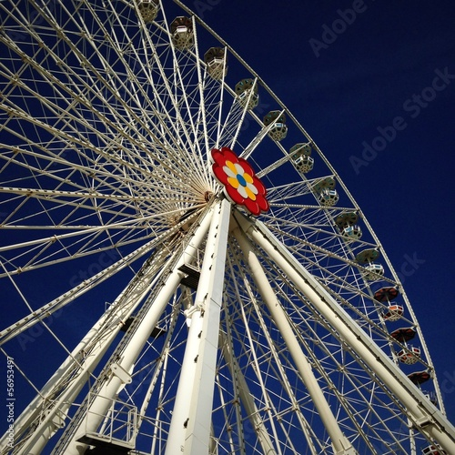 ferry wheel in vienna prater