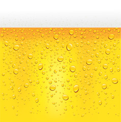 background beer with bubbles close up