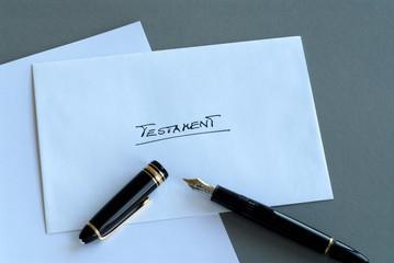 Testament, Vermächtnis, Erbe, vererben, Nachlass, Erbschaft, Tod