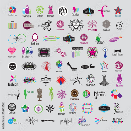 biggest collection of vector logos of fashion accessories and cl