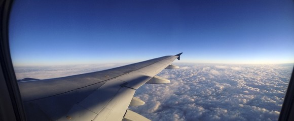Panoramic Airplane View