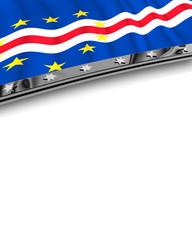 Designelement Flagge Kap Verde