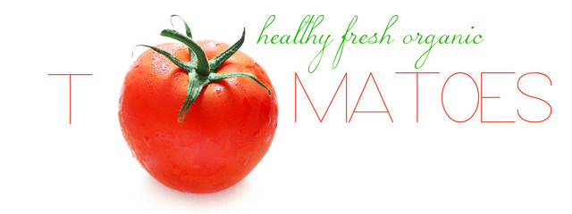 Healthy Fresh Organic Tomatoes