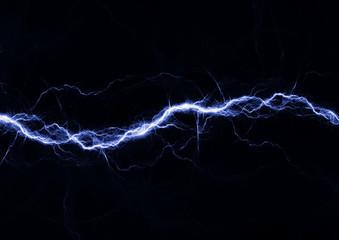 Blue fantasy lightning