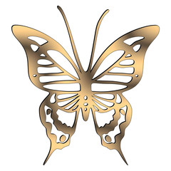 Logo mariposa Waves