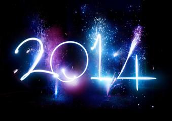Happy New Year 2014 Fireworks