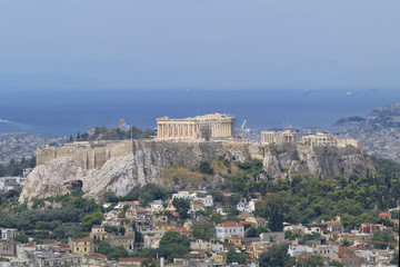 Parthenon, Acropolis and Athens cityscape, Greece