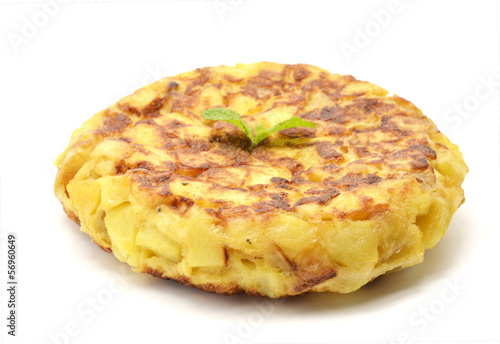 Spanish tortilla (omelet with potatoes and onions)