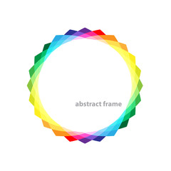 vector-abstract-frame