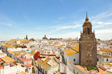 Panoramic view of Carmona, Spain