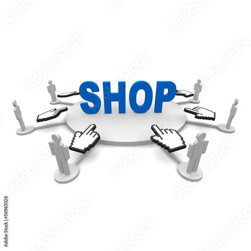 Shop, online, einkaufen, sale,