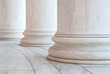 Base of Ionic Columns at Jefferson Memorial in Washington DC - 56963696