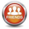 Red friends button