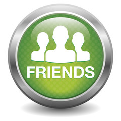 Green friends button
