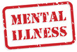 Mental Illness Rubber Stamp