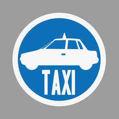 taxi label