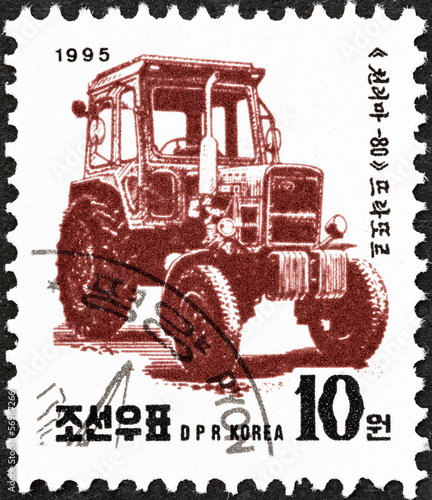 Tractor (North Korea 1995)