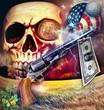 Nightmare with revolver