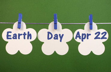 Earth Day, April 22, message greeting