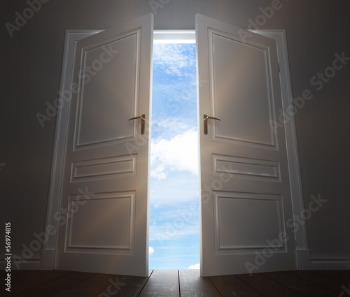 big door to sky