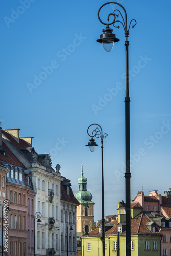 Tenements facades at Old Town in Warsaw © Cinematographer