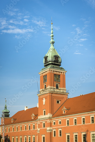Tower of Royal Castle in Warsaw