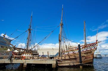 Galeone al porto di Fremantle, West Australia