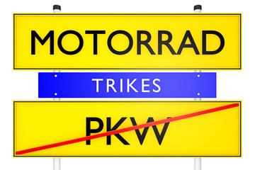 Trikes, Motorrad vs PKW