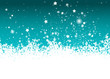 Hintergrund, Winterlandschaft, Schneeflocken, Dekoration, Schnee