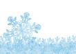 Hintergrund, Eisblume, Eis, Winter, Zeichen, Symbol, Vorlage