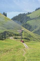 Schweizer Alpen, Brienzer Rothorn, Bergbahn, Schweiz