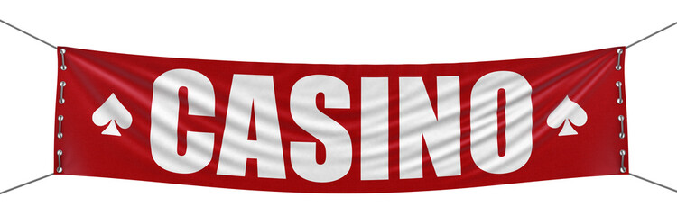 Casino Banner (clipping path included)