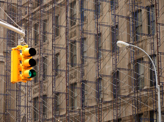 In den Straßen New Yorks