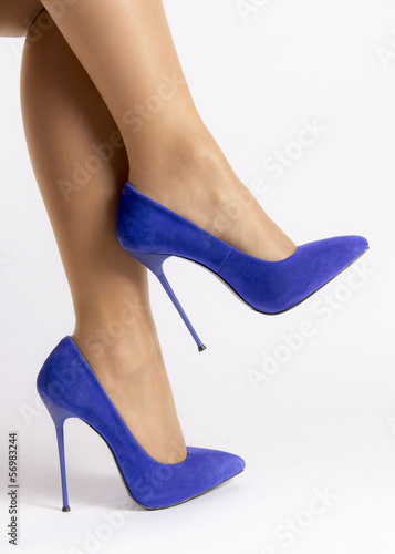 Blue Sexy Shoes