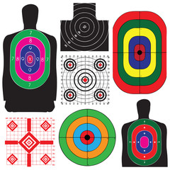 Set of targets