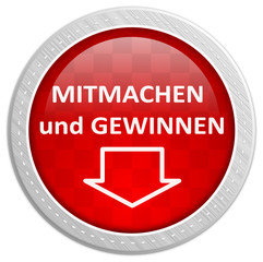 Button rot - mitmachen und gewinnen