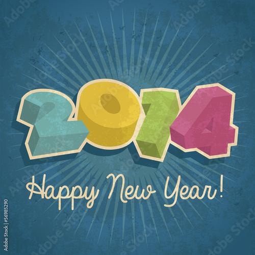 Happy Retro New Year 2014