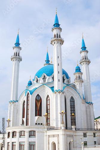 Kol-Sharif Mosque, Kazan Kremlin. UNESCO Heritage Site.