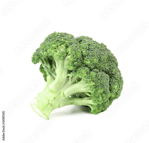 Closeup of fresh broccoli.