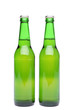 Two bottles of light beer